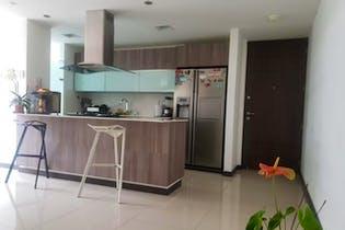 Apartamento en venta en Loma de Cumbres de 92.89mt2 con balcón.