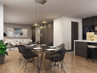 Una sala de estar llena de muebles y una mesa en Haus 114