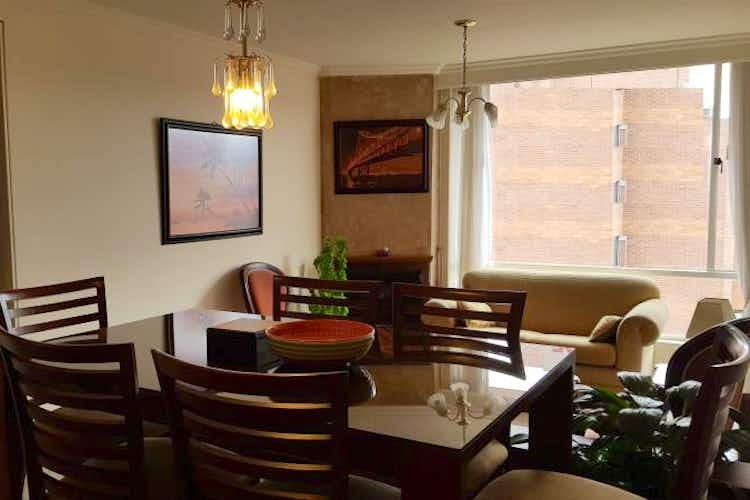 Portada Apartamento en venta en Bogotá de 94 mts2 con chimenea