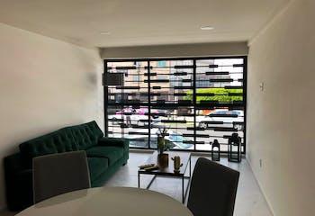 Departamento en venta en Letrán Valle de 129 mt con balcón