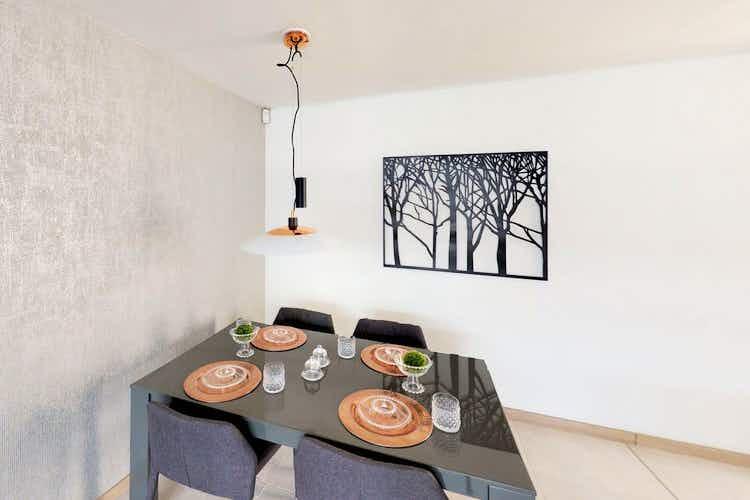 Portada Apartamento en venta en Santa Maria, 61mt con balcon.