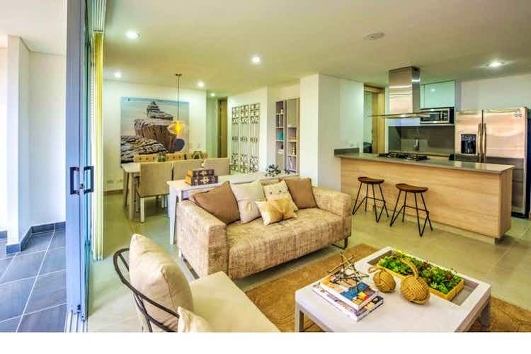 Portada Apartamento en venta en Loma del Chocho, 77mt con balcon