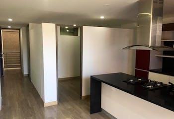 Apartamento en Venta en Santa Bárbara Central de 48,62 mt con chimenea
