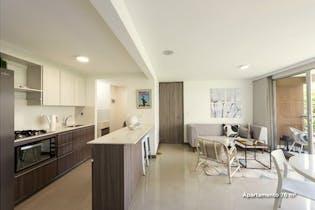 Apartamento en venta en Loma del Escobero, 79mt con balcon.