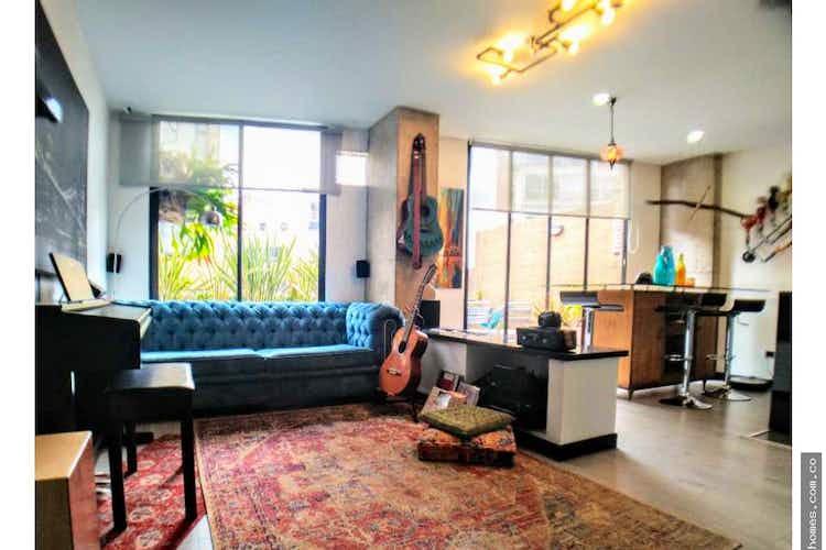 Portada Apartamento en venta en Bosque Calderón de 95 mt con chimenea