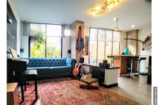 Apartamento en venta en Bosque Calderón de 95 mt con chimenea