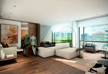 Area 98, Apartamentos en venta en Chicó Reservado de 1-2 hab.