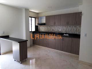 Cocina con horno de cocina y nevera en Apartamento en venta en Asturias, de 78mtrs2