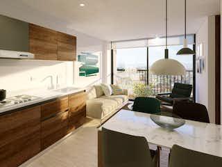 Una sala de estar llena de muebles y una ventana en Renova 22