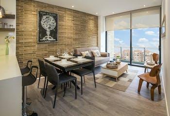 Prato, Apartamentos en venta en Chicó Reservado de 1-2 hab.