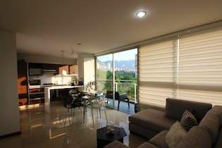 Apartamento en venta en Los Balsos 92m² con Piscina...