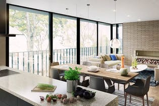 Proyecto nuevo en La Toscana, Apartamentos nuevos en La Cabrera con 2 habitaciones