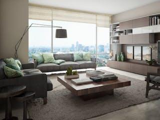 Una sala de estar llena de muebles y una mesa en Neuchatel