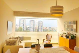 Departamento en venta en Lomas de Vista Hermosa, 151mt con terraza.