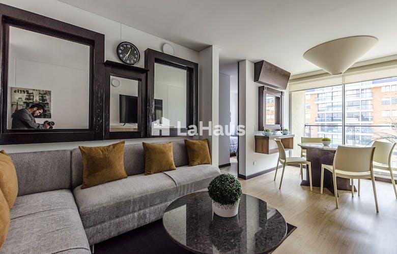 Portada Apartamento amoblado con balcón, en Pontevedra de 59.32m2