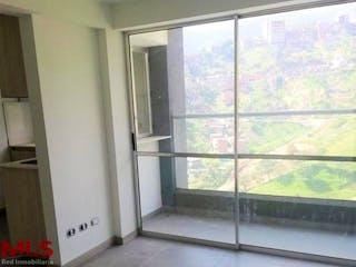 Una ventana en una habitación con una ventana en Camino del Parque
