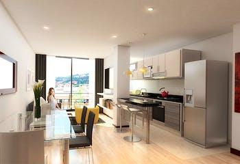 Vivienda nueva, Axxes 128, Apartamentos en venta en Las Villas con 57m²