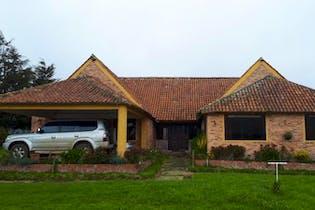Casa campestre en venta en Calera Vereda San Jose 3 habitaciones