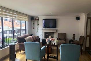Apartamento en venta en Bogota Santa Barbara Central-Usaquén 3 habitaciones