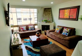 Apartamento En Venta En Puente Largo, de 95,63mtrs2 con chimenea