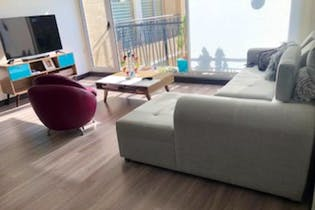 Apartamento En Venta En La Calleja, de 121,68mtrs2 con dos balcones