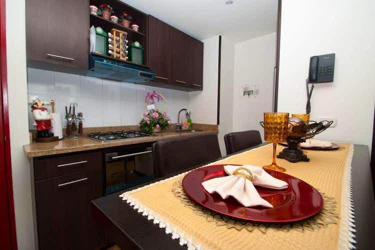Portada Apartamento en venta en Barrio Teusaquillo, de 53mtrs2 con balcón