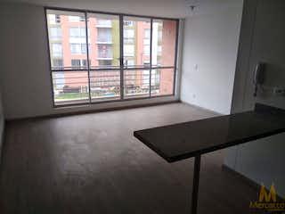 Una vista de una sala de estar desde una ventana en Apartamento en venta en Zipaquira, 76mt con balcon
