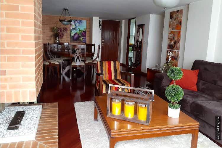 Portada Apartamento en venta en Santa Paula con chimenea