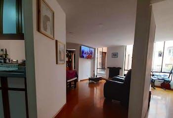 Apartamento en venta en Santa Paula Usaquén, 58m² con Jardín...