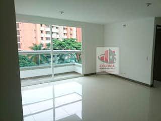 Una vista de una cocina desde el pasillo en Apartamento en venta en La Pilarica de tres habitaciones
