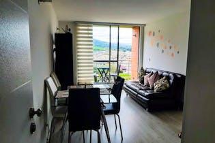 Apartamento en venta en Casco Urbano Zipaquirá de 70.97mt2 con balcón.