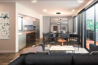 Vivienda nueva, Providencia 828, Departamentos en venta en Del Valle con 181m²