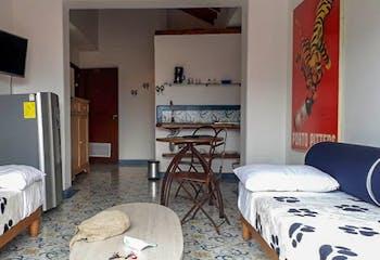 Apartamento en venta en Casco Urbano El Retiro de 1 habitacion