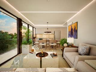 Una sala de estar llena de muebles y una gran ventana en Carlos Juan Finlay 10