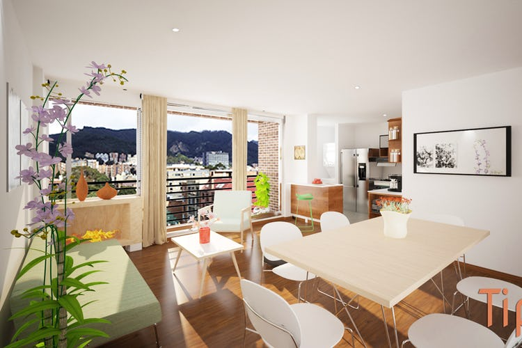 Portada Lisboa Real, Apartamentos en venta en Barrio Cedritos con 49m²