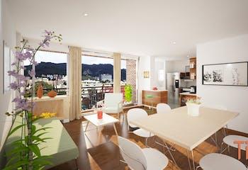 Lisboa Real, Apartamentos en venta en Barrio Cedritos con 49m²