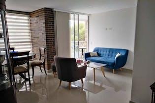 Apartamento en venta en Los Almendros, 76mt con dos balcones