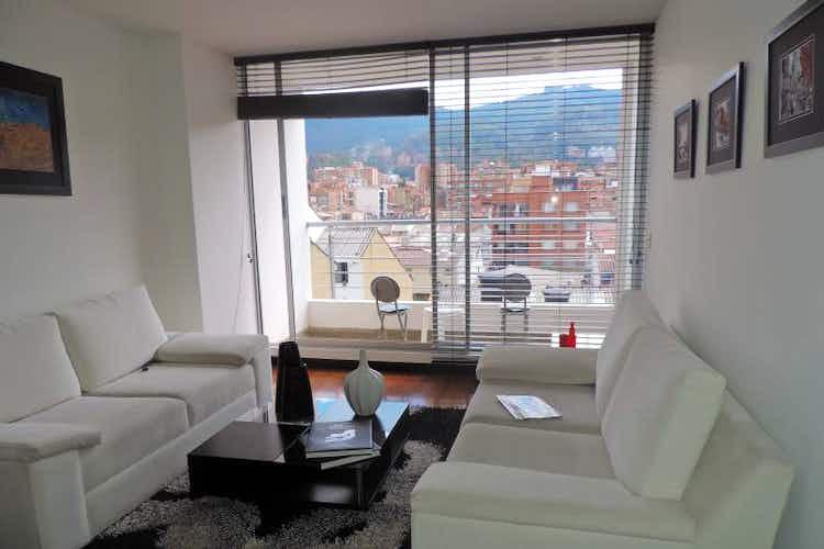 Portada Apartamento En Venta En Barrio Cedritos de 100mt2 con balcón.