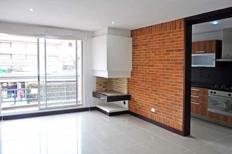 Portada Apartamento en venta en Chicó Navarra de 80 mt con chimenea