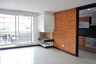 Apartamento en venta en Chicó Navarra de 80 mt con chimenea