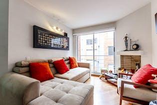 Apartamento con chimenea de leña, en Chapinero de 39,15m2
