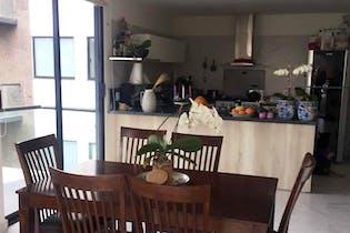Departamento en venta en  Tetelpan, de 104mtrs2 con 3 terrazas