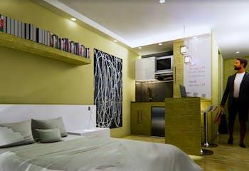 Vitta 58, Apartamentos en venta en Barrio Chapinero 18m²