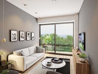 Una sala de estar llena de muebles y una televisión de pantalla plana en Spazio 881