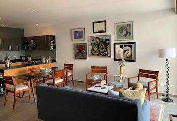 Departamento en venta en Ampliación Nápoles, 105mt con dos terrazas