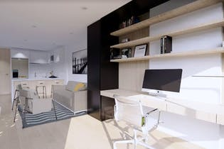 Proyecto de Vivienda, Alenta Apartasuites, Apartamentos en venta en El Lago 35m²