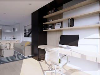 Alenta Apartasuites, apartamentos sobre planos en El Lago, Bogotá