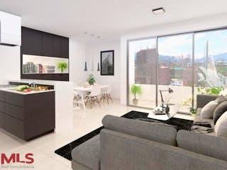 Opia, apartamento en venta en El Portal, Envigado