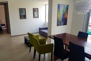 Apartamento en venta en Casco Urbano Cajicá de 74 mt con balcón