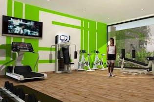 Proyecto nuevo en Manzana Verde, Apartamentos nuevos en Caobos Salazar con 2 habitaciones